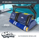 Dolphin H120 Commercial Pool Cleaner with CleverClean