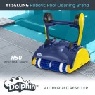 Dolphin H50 Commercial Pool Cleaner with CleverClean