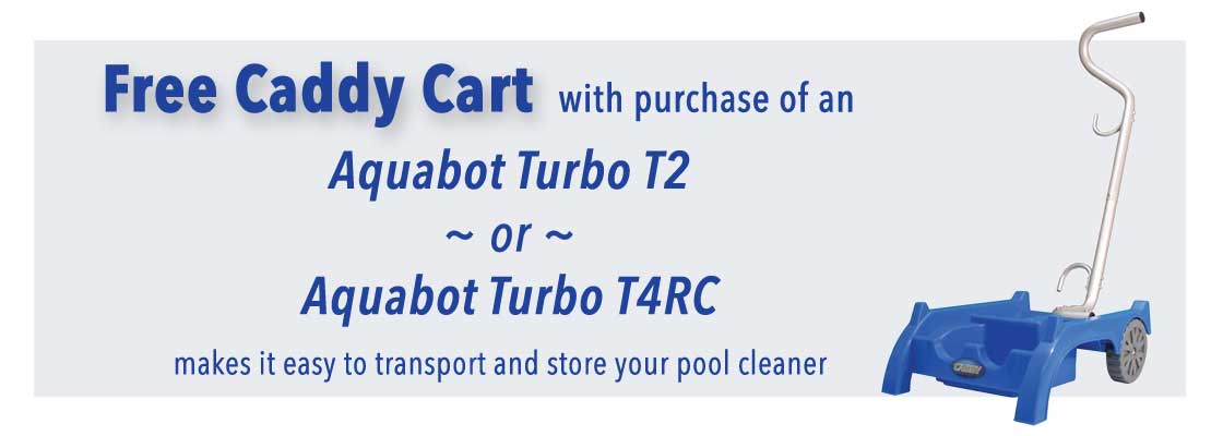 free buggy with purchase of this robotic pool cleaner