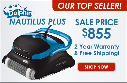 Dolphin Nautilus Plus with Clever Clean On Sale